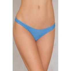 Hot Anatomy Dół bikini Wrinkled - Blue. Białe bikini marki Hot Anatomy. Za 64,95 zł.