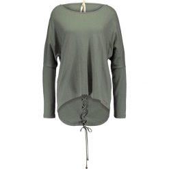 Swetry klasyczne damskie: Isla Ibiza Bonita Sweter army