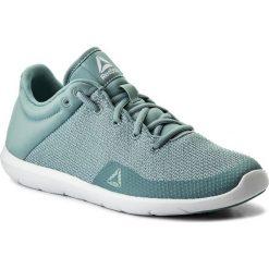 Buty Reebok - Studio Basics CN0727 Whisper Teal/White. Niebieskie buty do fitnessu damskie Reebok, z materiału. W wyprzedaży za 179,00 zł.