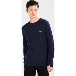 Lacoste LIVE Sweter navy blue. Niebieskie swetry klasyczne męskie Lacoste LIVE, m, z bawełny. Za 469,00 zł.