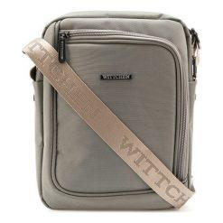 Torebka w kolorze beżowym - (S)20 x (W)24 x (G)4 cm. Brązowe torebki klasyczne damskie Wittchen, w paski, z materiału, na ramię. W wyprzedaży za 99,95 zł.