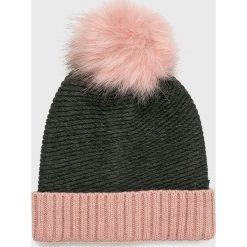 Vero Moda - Czapka Bera. Szare czapki zimowe damskie Vero Moda, z dzianiny. W wyprzedaży za 49,90 zł.