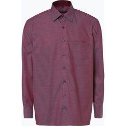 Eterna Comfort Fit - Koszula męska – niewymagająca prasowania, czerwony. Czerwone koszule męskie non-iron Eterna Comfort Fit, m, w kratkę, z klasycznym kołnierzykiem. Za 229,95 zł.