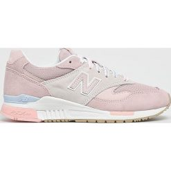 New Balance - Buty WL840RTP. Szare buty sportowe damskie New Balance, z gumy. Za 499,90 zł.