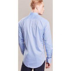 Tiger of Sweden FARRELL SLIM Koszula biznesowa light blue. Brązowe koszule męskie slim marki Tiger of Sweden, m, z wełny. Za 379,00 zł.