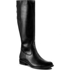 Buty zimowe damskie: Oficerki ŁUKBUT - 725 Czarny