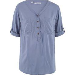 Tunika, rękawy 3/4 bonprix matowy niebieski. Czarne tuniki damskie marki DOMYOS, z bawełny, street. Za 44,99 zł.