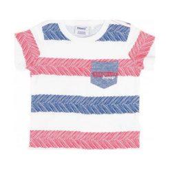 Primigi T-Shirt Chłopięcy 74 Wielokolorowy. Szare t-shirty chłopięce marki Primigi. W wyprzedaży za 49,00 zł.