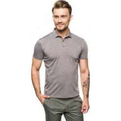 Koszulka polo escala szary. Szare koszulki polo marki Recman, m, z długim rękawem. Za 89,99 zł.