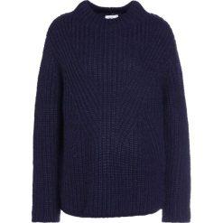 Swetry klasyczne damskie: CLOSED Sweter navy