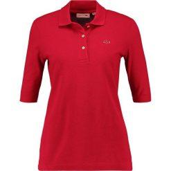 Bluzki damskie: Lacoste TEE CORE Koszulka polo persian red