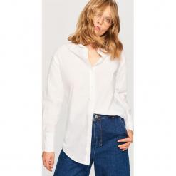 Koszula z bawełny organicznej - Biały. Białe koszule damskie marki Adidas, m. Za 79,99 zł.