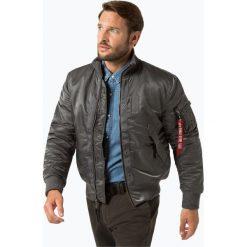 Alpha Industries - Kurtka męska, szary. Czarne kurtki męskie marki Alpha Industries, m, z aplikacjami. Za 719,95 zł.