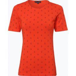 Franco Callegari - T-shirt damski, czerwony. Zielone t-shirty damskie marki Franco Callegari, z napisami. Za 89,95 zł.