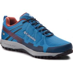 Buty COLUMBIA - Conspiracy V Outdry BM4590 Blue Magic/Lux 426. Niebieskie buty trekkingowe męskie Columbia, z materiału, outdoorowe. W wyprzedaży za 399,00 zł.