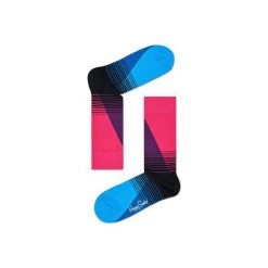 Skarpetki Happy Socks  EIG01-9000. Niebieskie skarpetki męskie Happy Socks, z bawełny. Za 24,43 zł.