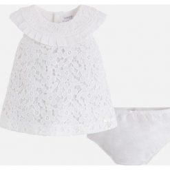 Mayoral - Sukienka dziecięca + majtki 65-80 cm. Szare bielizna dziewczęca marki Mayoral, z bawełny. Za 144,90 zł.
