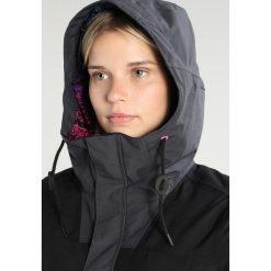 O'Neill FROZEN WAVE Kurtka snowboardowa black out. Czarne kurtki damskie narciarskie O'Neill, s, z materiału. W wyprzedaży za 726,75 zł.