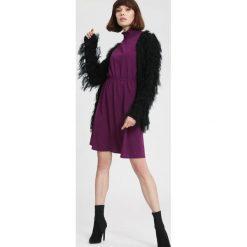 Ciemnofioletowa Sukienka Forecast. Fioletowe sukienki mini other, l. Za 79,99 zł.