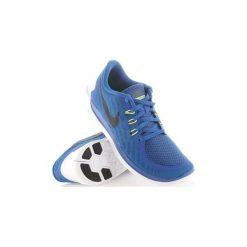 Buty do biegania Dziecko Nike  Free 5.0 725104-400. Niebieskie buty sportowe chłopięce Nike. Za 271,30 zł.