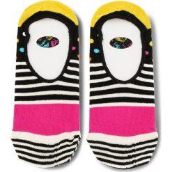 Skarpety Stopki Unisex HAPPY SOCKS - SDO06-9000 Kolorowy. Szare skarpetki damskie Happy Socks, w kolorowe wzory, z bawełny. Za 24,90 zł.
