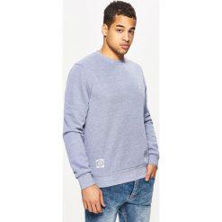 Bejsbolówki męskie: Gładka bluza regular - Niebieski