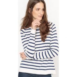 Kardigany damskie: Sweter marynarski, bawełna i jedwab