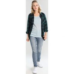 Topy sportowe damskie: Icebreaker SPHERE SCOOP Tshirt basic dew heather