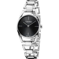 ZEGAREK CALVIN KLEIN Dainty K7L23141. Czarne zegarki damskie marki Calvin Klein, szklane. Za 1129,00 zł.