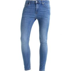Topman GARCIA SPRAY ON Jeans Skinny Fit blue. Niebieskie rurki męskie Topman. W wyprzedaży za 125,40 zł.