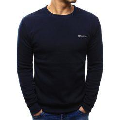 Bluzy męskie: Bluza męska granatowa (bx3426)