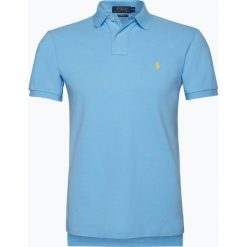 Polo Ralph Lauren - Męska koszulka polo, niebieski. Niebieskie koszulki polo marki Polo Ralph Lauren, l, z bawełny. Za 449,95 zł.