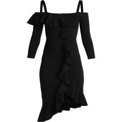 MARCIANO LOS ANGELES BETHZY DRESS Sukienka koktajlowa jet black. Czarne sukienki koktajlowe MARCIANO LOS ANGELES, m, z elastanu. Za 899,00 zł.
