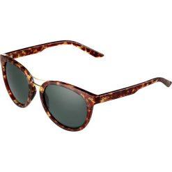 Okulary przeciwsłoneczne damskie: Smith Optics BRIDGETOWN Okulary przeciwsłoneczne yellow tortoise/green