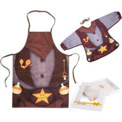 Baby Sheriff - śliniak i fartuch. Brązowe śliniaki Baby Gadgets. Za 68,19 zł.