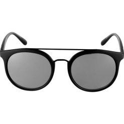 Burberry Okulary przeciwsłoneczne matte black. Czarne okulary przeciwsłoneczne damskie lenonki marki Burberry. Za 679,00 zł.