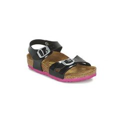 Sandały Dziecko  Birkenstock  RIO. Czarne sandały dziewczęce Birkenstock. Za 181,30 zł.