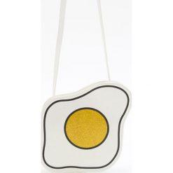 Torebki i plecaki damskie: Torebka jajko sadzone – Biały