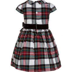 Sukienki dziewczęce z falbanami: Carter's DRESS PLAID BOW BABY SET Sukienka koktajlowa ivory