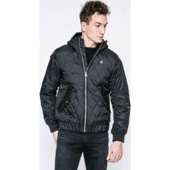 G-Star Raw - Kurtka. Czarne kurtki męskie przejściowe marki G-Star RAW, m, z materiału, retro, z kapturem. W wyprzedaży za 529,90 zł.