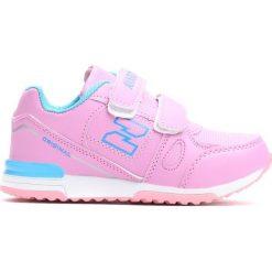 Różowe Buty Sportowe Born Like This. Czerwone buty sportowe dziewczęce marki Born2be, z materiału, z okrągłym noskiem. Za 49,99 zł.