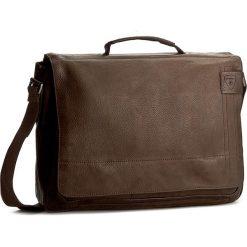 Plecaki męskie: Torba na laptopa STRELLSON – Upminster Briefbag L 4010001923 Dark Brown 702