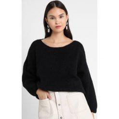 Swetry klasyczne damskie: American Vintage WOXILEN Sweter black