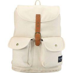 Plecaki męskie: Plecak w kolorze kremowym - 40 x 31 x 16 cm