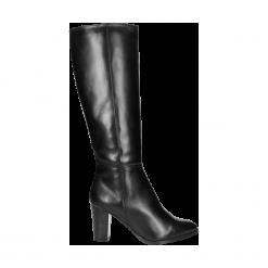 Kozaki damskie. Czarne buty zimowe damskie Wojas. Za 463,20 zł.