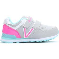 Szaro-Różowe Buty Sportowe Pink Air. Czerwone buty sportowe dziewczęce Born2be, z materiału, z okrągłym noskiem. Za 59,99 zł.
