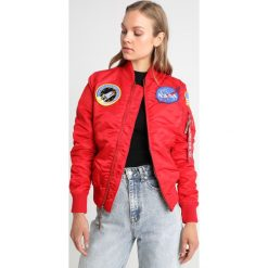 Alpha Industries Kurtka Bomber speed red. Czerwone bomberki damskie marki Alpha Industries, xs, z materiału. Za 719,00 zł.