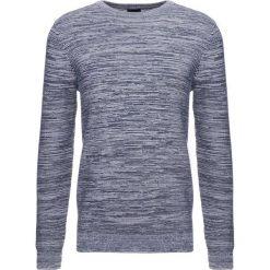 Swetry klasyczne męskie: Burton Menswear London SPACE DYE CREW Sweter navy