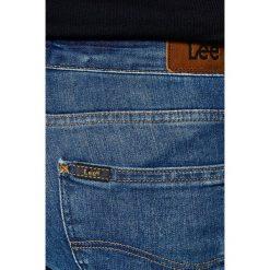 Lee - Jeansy Scarlett Night Sky. Niebieskie jeansy damskie Lee, z bawełny. W wyprzedaży za 159,90 zł.