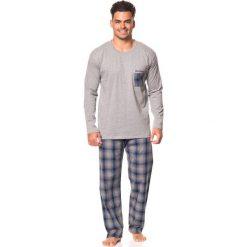 """Piżamy męskie: Piżama """"Alain"""" w kolorze czarno-szarym"""